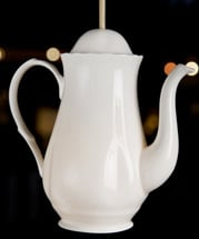 coffeepot light shade at Liberty