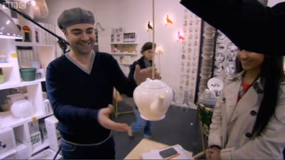 The Teapot Light on The Apprentice