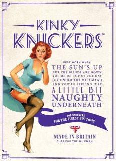 Kinky Knickers packaging