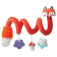 Manhattan Toy Activity Spiral Fox Toy, Orange