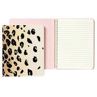 kate spade Spiral Leopard Print Notebook