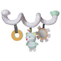 Manhattan Toy Playtime Plush Bear Activity Spiral Soft Toy